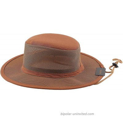 Accessorama Men & Women's Western Mesh Cowboy Hat Cowgirl Caps with Roll-up Brim for Summer Breathable at  Women's Clothing store