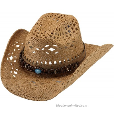 Bullhide Bean Me Up Women's Straw Cowgirl Western Hat 2802