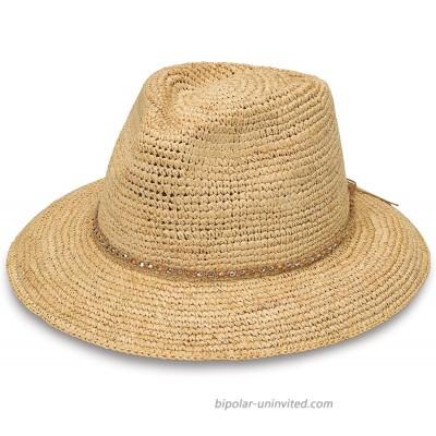 Wallaroo Hat Company Women's W Collection Malibu Fedora - Natural - Raffia at  Women's Clothing store