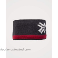 Dale of Norway Are Headband Dark Charcoal Off-White Raspberry One Size