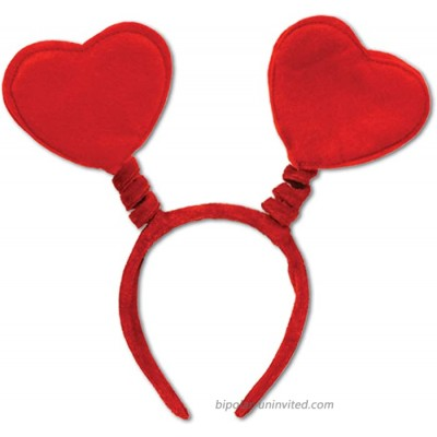 Heart Boppers Party Accessory 1 count 1 Pkg