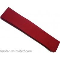 Plain Headband in Red
