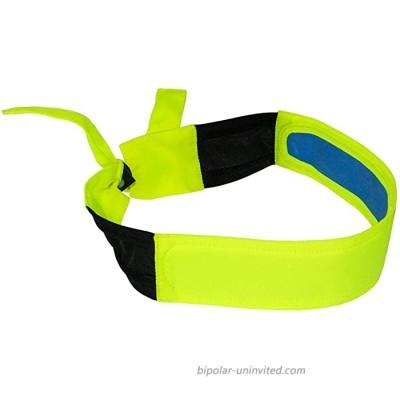 Radians RCS110 Arctic Skull Cooling Headband Hi-Viz Green