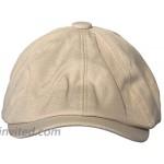 Clape Flat Cap Ivy Hat Newsboy Cap Mens Caps Cotton Herringbone Flat Ivy Driving Gatsby Cabbie Hat at Men's Clothing store
