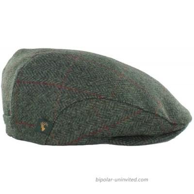 Mucros Weavers Irish Flat Cap Men Trinity Tweed Hat Driving Cap Made in Ireland at  Men's Clothing store