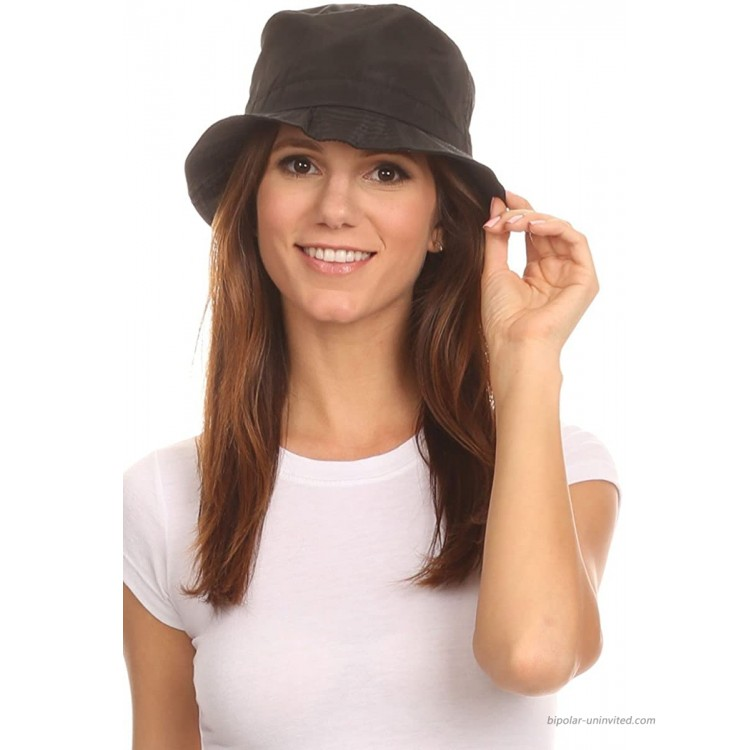 LL Unisex Packable Rain Hat Lightweight Year Round Use - 2 Sizes for Best Fit at Women's Clothing store