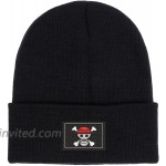 JIAHUA Anime Hat Unisex M Embroidery Knitted Hats Men Women Adult Winter Outdoor Ski Hat Black1 at Men's Clothing store