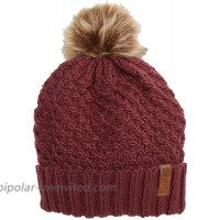 Roxy Blizzard Beanie Oxblood Red One Size at  Women's Clothing store