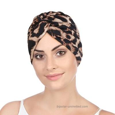 Turban Women Hat Headband Islamic Head Wrap Bonnet Headscarf Muslim Cap Bandana Yellow