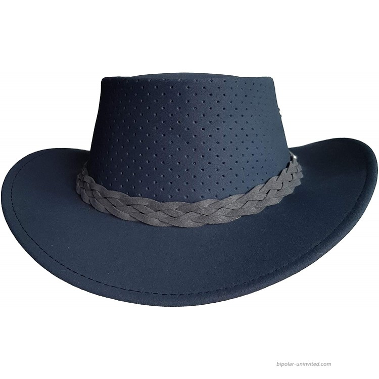 Aussie Chiller Outback Bushie – Perforated Hat for All Seasons Made in Australia at Men's Clothing store