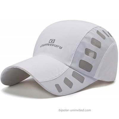 Clape Sports Hat Cap Lightweight Quick Drying Summer Sun Caps Breathable Outdoor Baseball Hat CP23-White at  Men's Clothing store