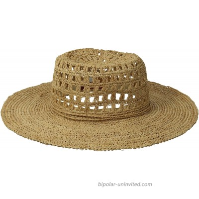 San Diego Hat Company Womens Floppy Natural One Size at  Women's Clothing store Sun Hats