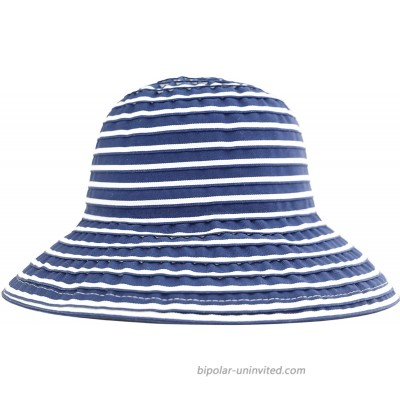 San Diego Hat Company Women's Ribbon Braid Small Brim Hat - One Size Navy White at  Women's Clothing store