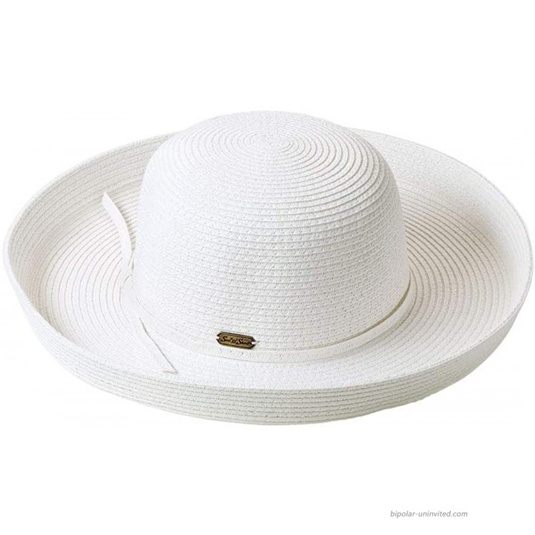Sunsational Sun Hat White One Size at Women's Clothing store Sun Hats