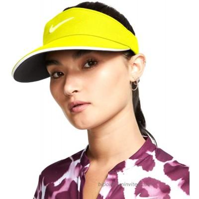 Nike Women's Aerobill Statement Visor - Bright Lemon