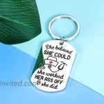 Inspirational Nurse Appreciation Keychain Gifts for Women Rn Nurses Er Nurses Day Week Appreciation Gifts for Nursing School Student Graduate Graduation Birthday Gift for Her Coworker Female at Women's Clothing store