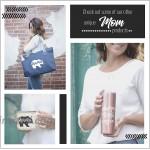Mom Gifts - Mama Bear Keychain Wallet Wristlet - Gift Idea Christmas Birthday