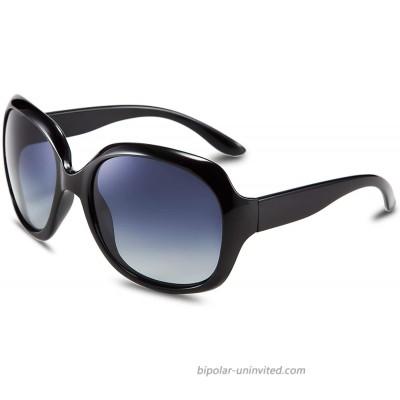 FEISEDY Fashion Oversized Polarized Women Sunglasses TAC Lenses B2434