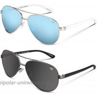 KastKing Kenai Polarized Aviator Sunglasses Smoke Lens and Smoke Base Ice Mirror