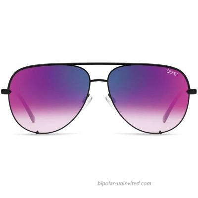 QUAY AUSTRALIA High Key Mini Black Pink Mirror One Size