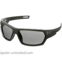 Under Armour womens Battlewrap Sunglasses Sunglasses Satin Black Gray Ansi 66 mm US