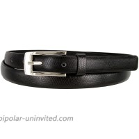 7045 Women's Skinny Lizard Embossed Leather Casual Dress Belt at  Women's Clothing store