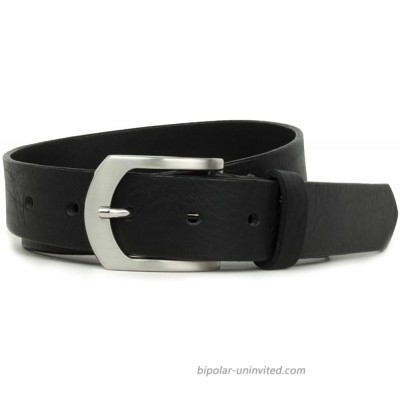 Deep River Belt -USA Made Genuine Full Grain Leather with Certified Nickel Free Buckle at  Men's Clothing store