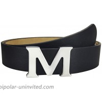 Fashion Leather Belts for Women M Name Belt with Removable Buckle for Jeans at  Women's Clothing store