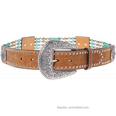 Nocona Belt Co. Women's Stranded Bead Belt at  Women's Clothing store