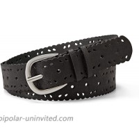 Relic by Fossil Women's Scallop Edge Perforated PVC Belt at  Women's Clothing store