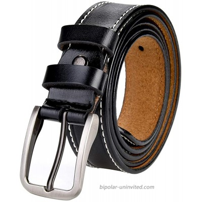 SYMOL Womens Belts for Regular & Plus Size 31-51 Waist Jeans Dresses Suit Casual Pants Leather Belts with Pin Buckle. at  Women's Clothing store