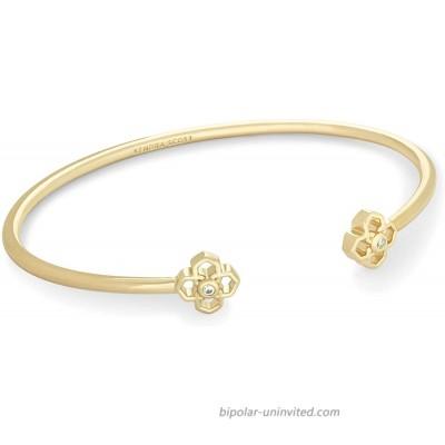 Kendra Scott Rue Cuff Bracelet for Women Fashion Jewelry 14k Gold-Plated