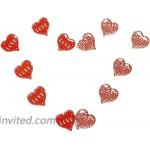 Heart Shaped Lapel Pins Love Enamel Pin Set 1 Inch 12 Pack