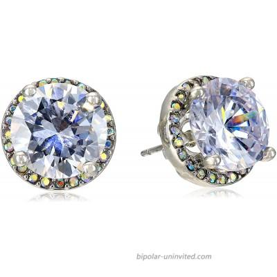 Betsey Johnson Crystal Stud Medium Earrings