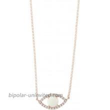 Effy 14K Rose Gold Opal & Diamond Evil Eye Necklace 0.72 TCW HNV0N173DO
