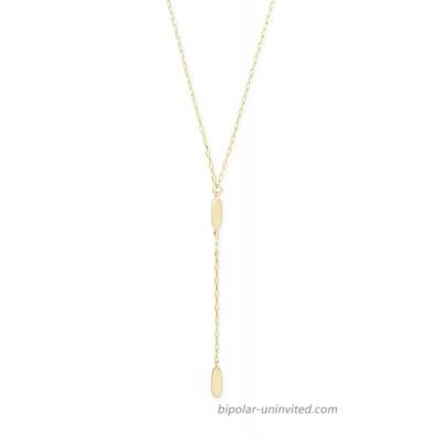 Kendra Scott Fern Y Necklace for Women Fashion Jewelry 14k Gold-Plated