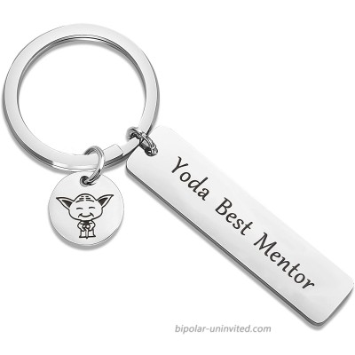 TGBJE Mentor Gift You are Best Mentor Keychain Thank You Gift for Leader Boss Best Mentor