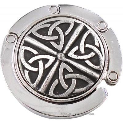 Mullingar Pewter Irish Trinity Knot Design Purse Hook #P304- C