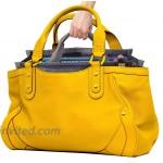 RW Collections Handbag Organizer Liner Sturdy Nylon Purse Insert Medium Grey