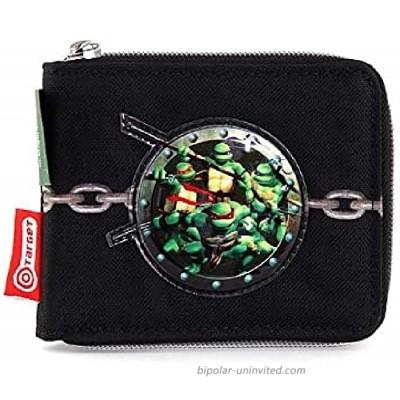 TMNT Bag Organiser Black Blue 13 cm