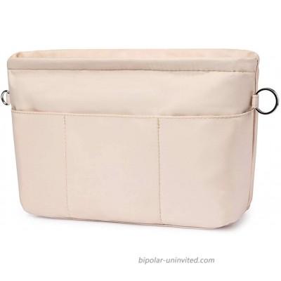 VANCORE Purse Organizer Insert with 13 Pockets Tote Handbag Insert with Zipper