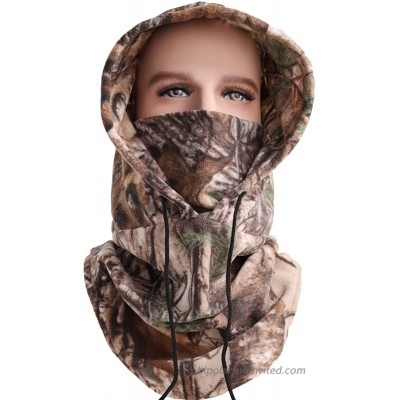 Balaclava Ski Face Mask Winter Neck Gaiter Ultimate Protection from Dust Wind camo1 at  Men's Clothing store
