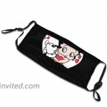 Betty Boop Face Mask Unisex Reusable Washable Protective mask Breathable and Adjustable String Suitable for Outdoor Sports Red at Men's Clothing store