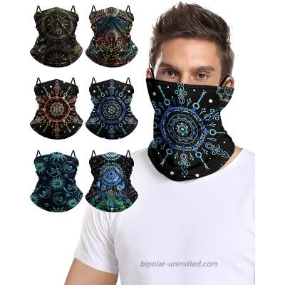 Face Bandanas for Sports Outdoors Sport Headband Neck Gaiter Multi-Patterns 3