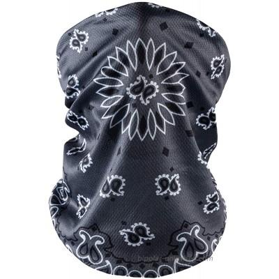 Face Masks Washable Neck Gaiter Scarf Bandana Face Covering Breathable Balaclava at  Men's Clothing store