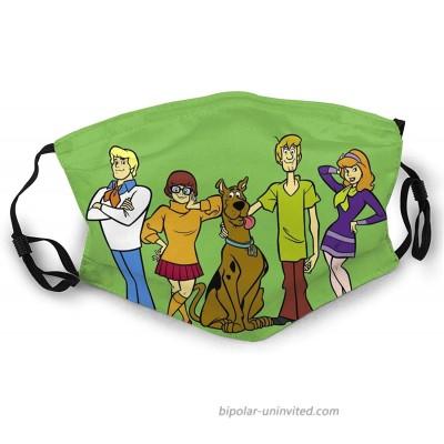 MOOCOM Sc-o-oBy Do-o Gang Reusable Face Cover Men Women Outdoor Mask at  Men's Clothing store