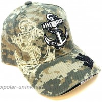 Anchor United States Navy Digital Camo Camouflage Hat Cap at  Women's Clothing store