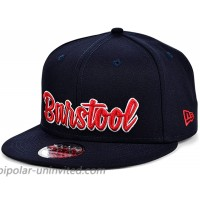 Barstool Sports New Era Classic Script 9FIFTY Adjustable Navy Red Snapback Cap at  Men's Clothing store