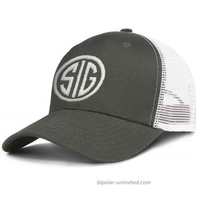 ERTUPBNXD Embroidery Hat Baseball Cap Snapbacks Truker Hats Unisex Adjustable Fashion Cap Army-Green at  Men's Clothing store