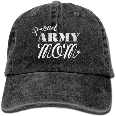 Proud Army Mom Mom Hat Baseball Cap Washed Denim Cotton Adjustable Hat Dad Hat Great Gift for Mother's Day Black at  Women's Clothing store